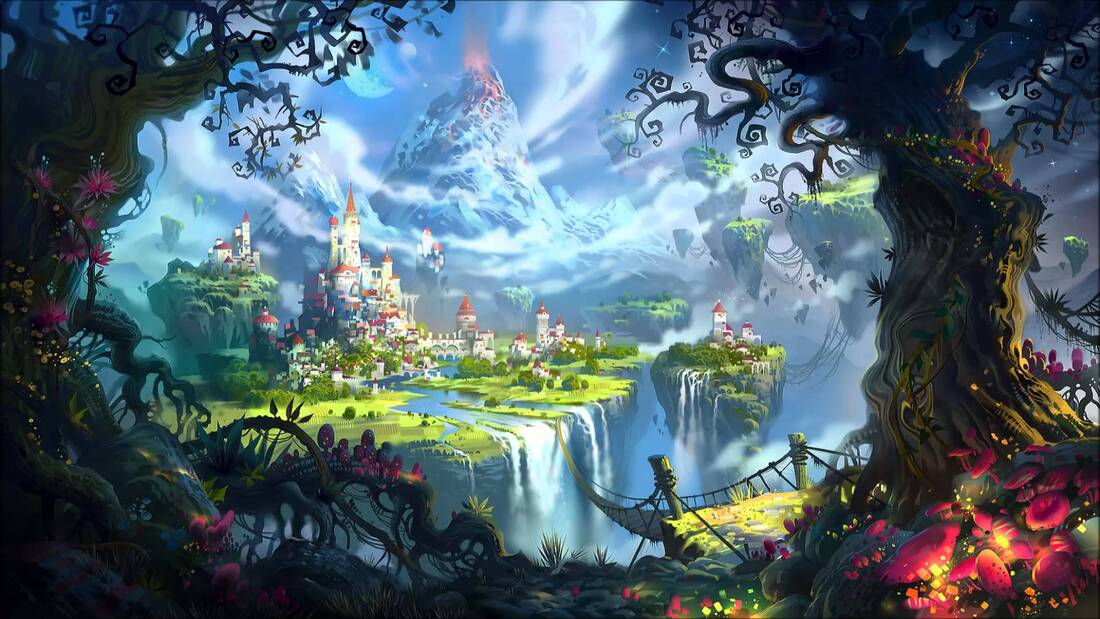 A fantastical kingdom is a great place to start a film.
